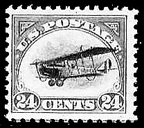 U.S. airmail stamp paid airmail postage and special delivery fee.