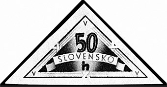 Slovakian personal delivery stamp.